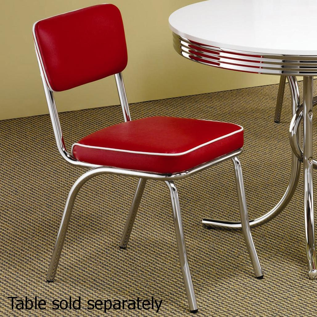 silver metal dining chairs childrens table and chair set wooden steal a sofa furniture outlet