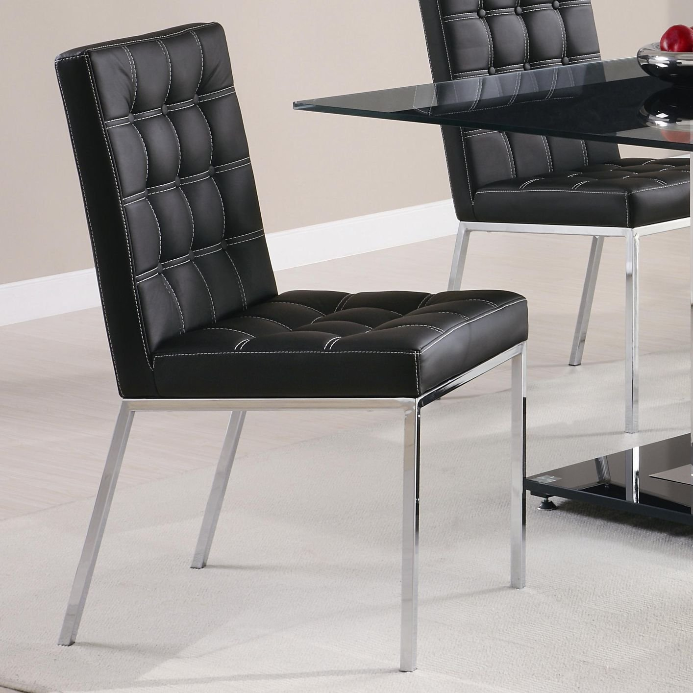 silver metal dining chairs high back purple chair steal a sofa furniture outlet