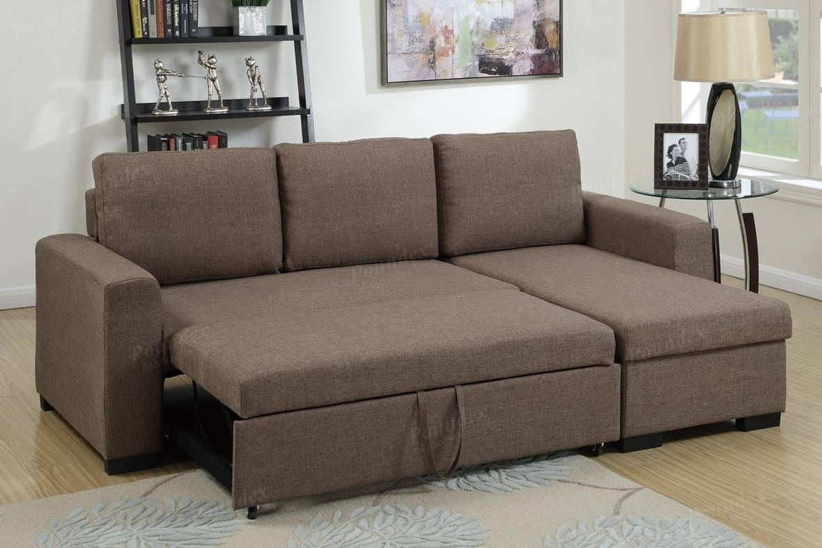brown fabric sofa with storage philippines sectional bed steal a furniture