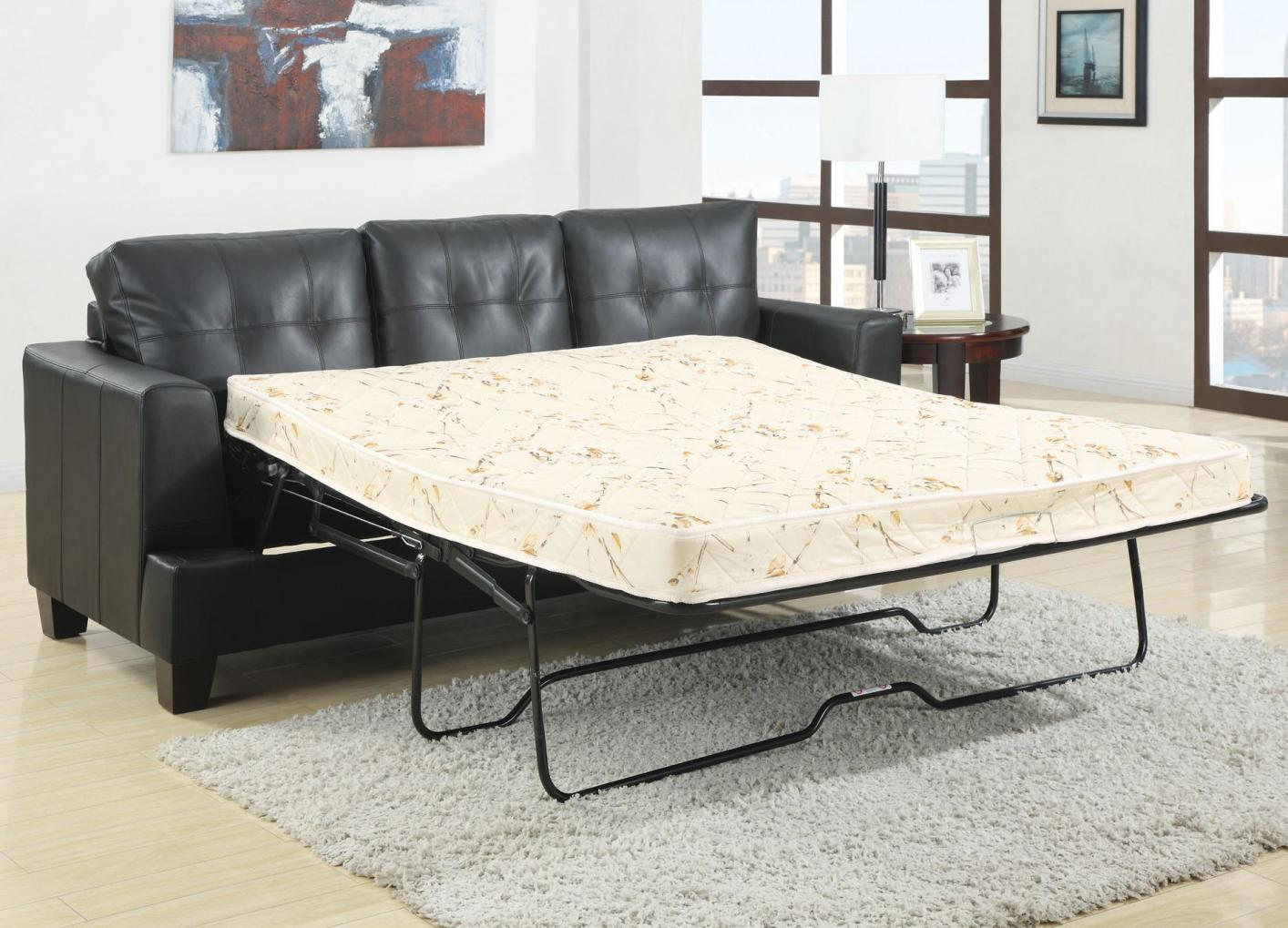 black and white leather sofa bed cheap corner sofas glasgow steal a furniture outlet los