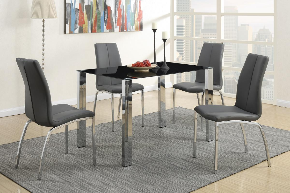 silver metal dining chairs tent and chair rental table steal a sofa furniture outlet