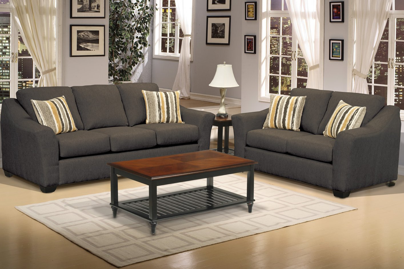 sofa and loveseat set up bed furniture bazaar steal a outlet los