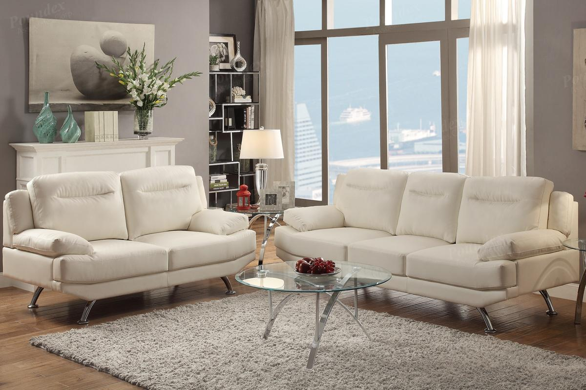 white leather sofa and loveseat set sofabord design udsalg steal a