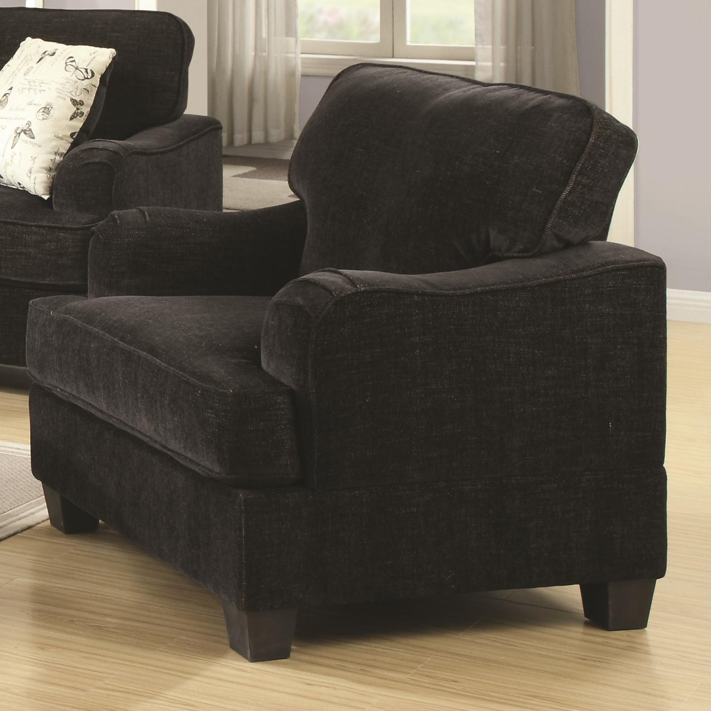 black fabric sofa chair mattress and cleaning bangalore yasmine steal a furniture outlet
