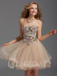 Clarisse Homecoming Dress 2920 | Promgirl.net