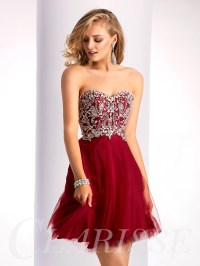 Clarisse Homecoming Dress S3012 | Promgirl.net