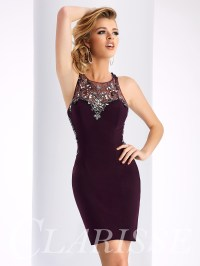 Clarisse Homecoming Dress S3115 | Promgirl.net