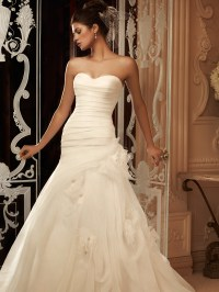 Sweetheart Fit And Flare Casablanca Bridal Gown 2105 ...
