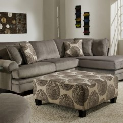 Bar Height Kitchen Table Sets Portable Cart Groovy Padded Velvet Sectional By Albany 8642 - Dallas ...