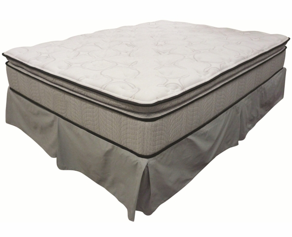 Twin Pillow Top Mattress and Foundation by Coaster