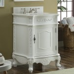 24 Inch Bathroom Vanity Classic Antique White Color 24wx21 75dx34 H Cbwv049waw