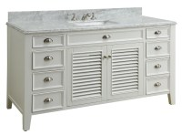"""Coastal Cottage Beach House Style Bathroom Vanities"