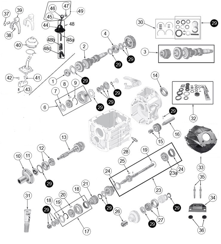 jeep cj7 engine diagram v6