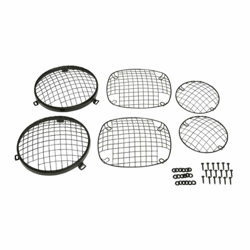 Kentrol 50465 Wire Mesh Guard Set, 6 pieces, Black Powder