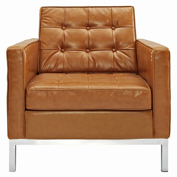 Florence Knoll ArmChair Premium Leather  Modern In Designs