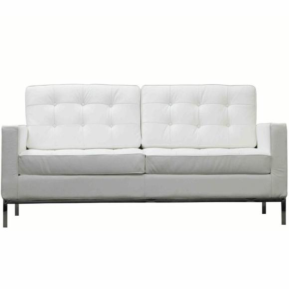 Florence Knoll Two Seat Loft Sofa Sectional Couch