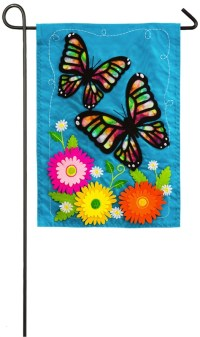 Mini Butterflies and Bugs Summer Decorative Banner Flags