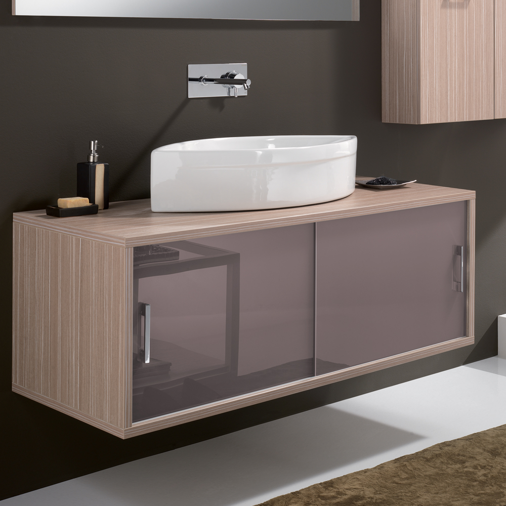 Vanities Bathroom Giva 03 Maple Contemporary Wall Mount Bathroom Vanity