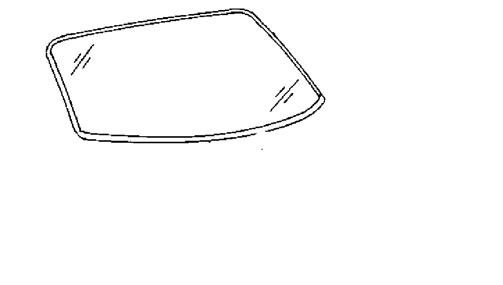 Back Glass Chrysler Concorde 4 Door Sedan 1998-2004