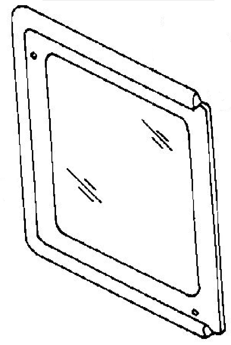 Service manual [1998 Isuzu Trooper Door Window Removal