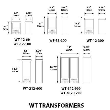 Focus WT 100W 12V Single Circuit Aluminum Transformer