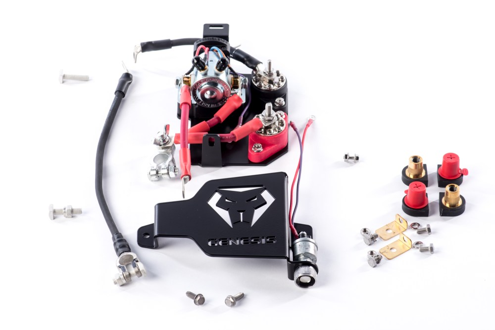 medium resolution of genesis dual battery kit 2014 18 polaris rzr xp 1000 xp turbo s 1000 900 s 900