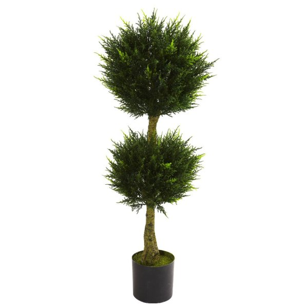 Double Ball Artificial Topiary Trees