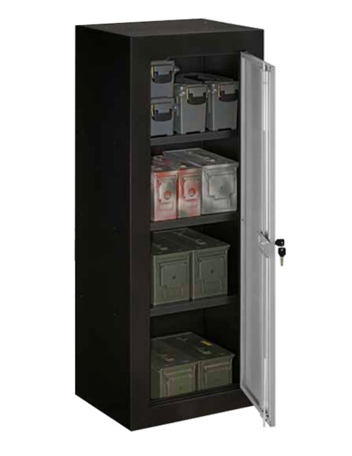 StackOn Ammo Security Cabinet with Reinforced Shelves  Ammo Cabinets