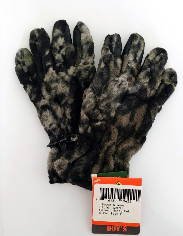 Mossy Oak Boys Kids Youth Shooting Gloves Camouflage