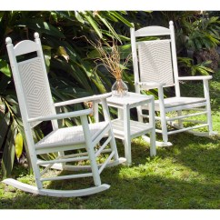 Woven Rocking Chair In A Bag With Canopy Polywood Jefferson 3 Piece Set Reg