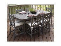 POLYWOOD Chippendale 6-Seat Dining Set