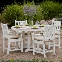 Polywood Traditional Garden 4-seat Dining Set