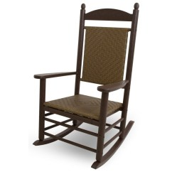 Woven Plastic Garden Chairs Fishing Chair Brands Polywood Jefferson Rocker Outdoor Furniture Plus