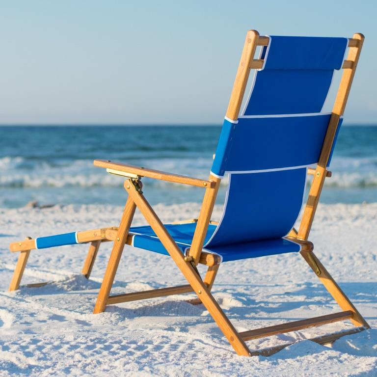 beach chairs with footrest kmart tables and sunrise chair w multiple fabric options sling not currently available
