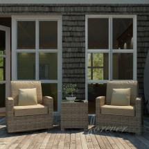 patio cypress wicker seating