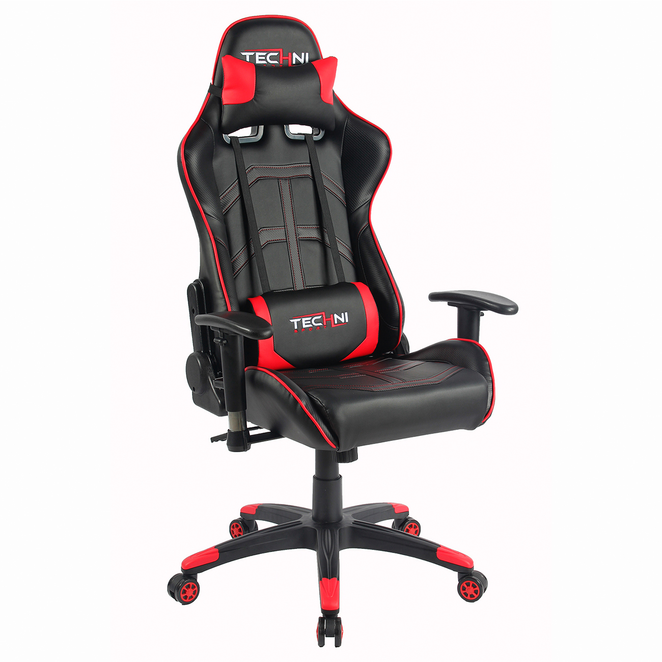 office chair rowing bedroom sydney techni sport gaming chairs with nylon base see all colors
