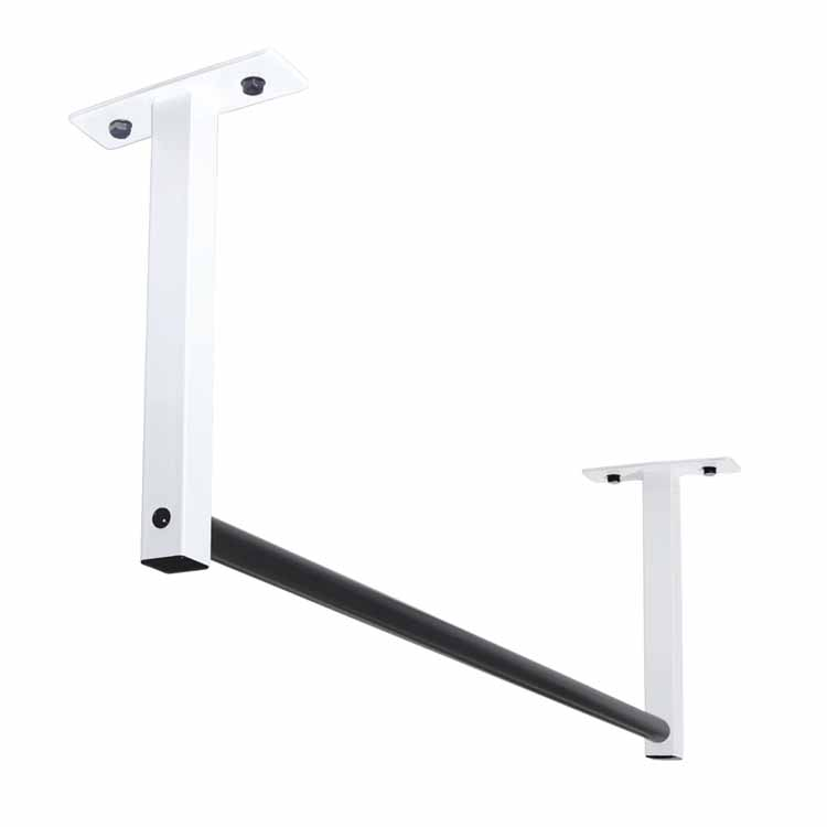 """New 48"""" Ceiling Mount Pull Up Bar for 8' Ceilings"""