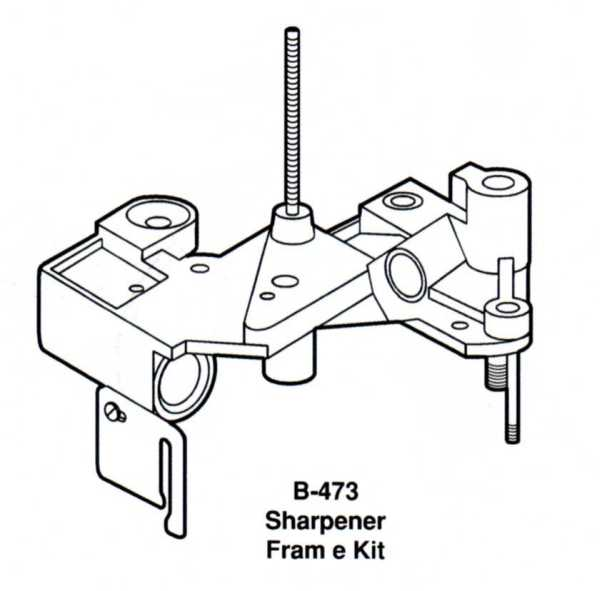 Berkel Sharpener Frame Kit For Berkel Slicers|(B-473)