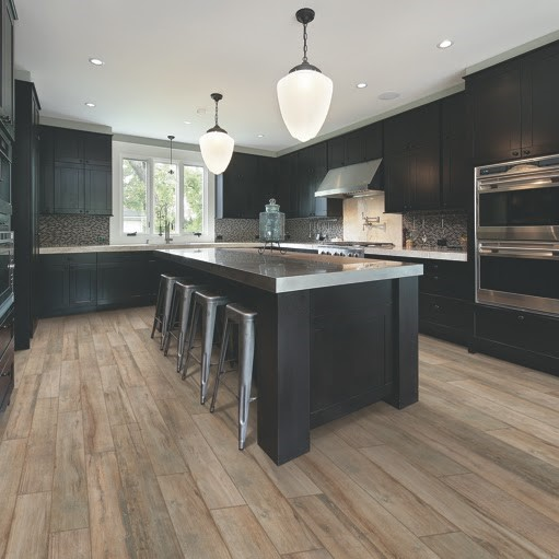 cork flooring in kitchen ikea kitchens cabinets mohawk magnolia bend natural driftwood tile