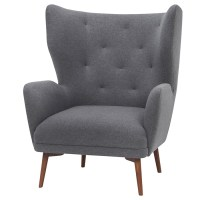 Mid Century Modern Wing Chair | British Home Emporium