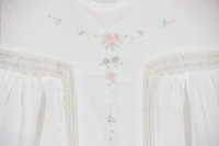 Remember Nguyen white cotton heirloom style dress,baby