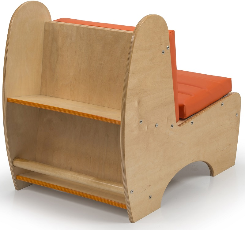 Childrens Contemporary Reading Chair with Comfortable