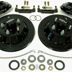 1959 1964 Impala 13 Inch Disc Brake Kit For Stock Spindles Global West Suspension