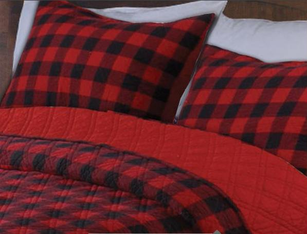 Red Size King Quilts