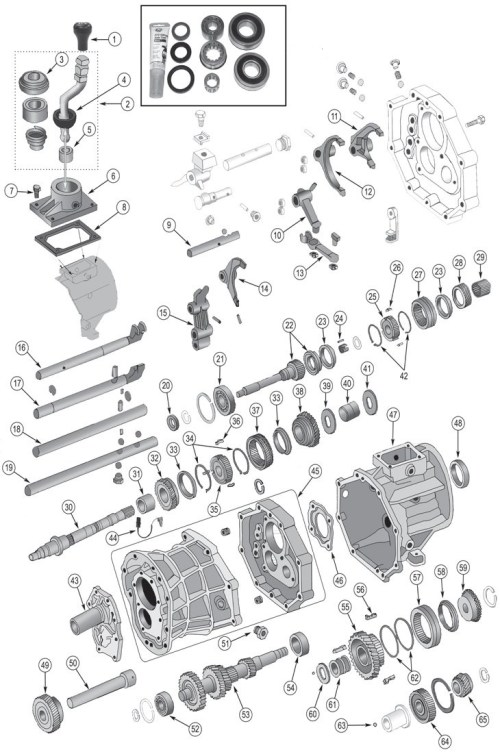 small resolution of jeep ax15 transmission parts for 1987 1999 wrangler tj yj cherokee xj for a 99 jeep wrangler drivetrain diagram