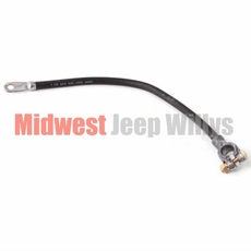 Jeep Part 919806 Battery ground cable, top mount, black