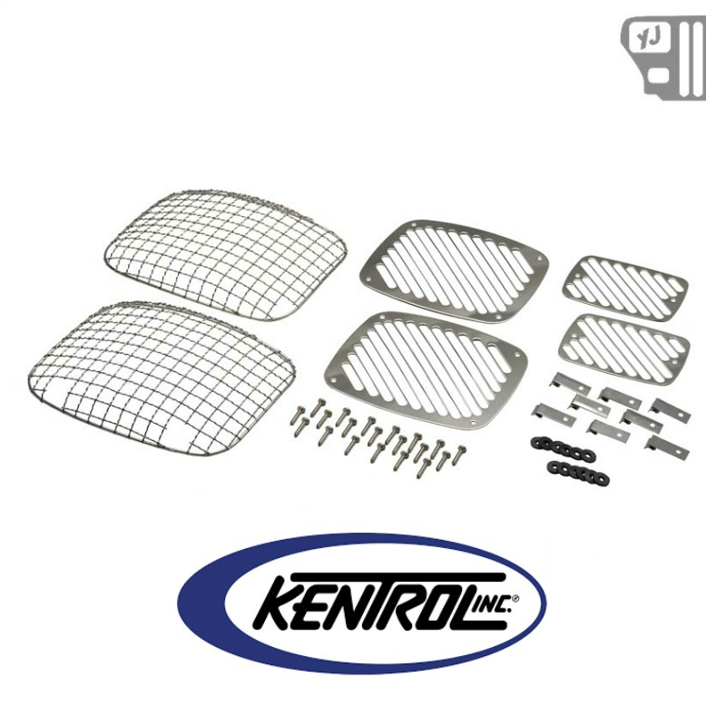 30467 Kentrol Billet & Wire Mesh Set (6 pieces) Polished
