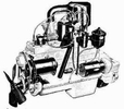 Willys Jeep Engine Parts for L-134 Flathead, F-134