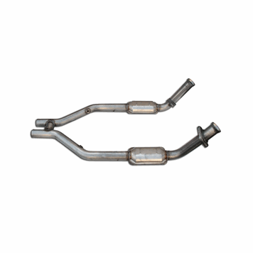 05-10 Mustang GT MRT MaxFlow H-Pipe, with Catalytic Converters