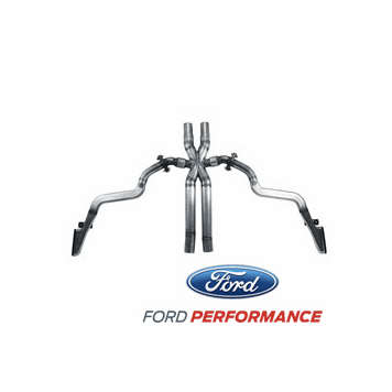 2015-17 Mustang GT Side Exit Exhaust System M-5220-M8